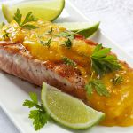 Salmon with Orange Sauce